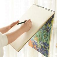 A3素描本速写纸绘画八开空白画纸图画本手绘8k学生用8开成人大号美术彩铅本厚初学者专业美术生专用画本画册