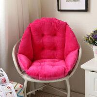 冬季毛绒餐椅垫藤椅保暖坐垫办公室护腰坐垫靠垫一体电脑椅垫定制定制!