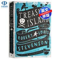 英文原版 Treasure Island 金银岛 经典儿童文学 儿童小说 Alma Classics