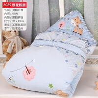 新生儿小抱被子婴儿包被可脱胆宝宝抱毯春秋冬季加厚抱被用品