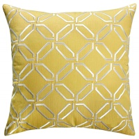 设计师经典搭配 简约组合黄黑灰抱枕靠垫家居装饰样板房设计
