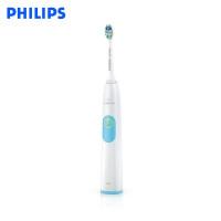 飞利浦电动牙刷HX6231成人充电式声波震动牙刷家用防水亮白正品