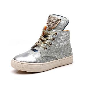 比比我2017春秋季高帮鞋韩版休闲运动鞋大童鞋厚底儿童休闲童鞋