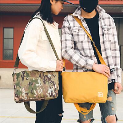 原创潮牌日系简约百搭手提单肩两用邮差包时尚情侣男女休闲购物袋 一般在付款后3-90天左右发货,具体发货时间请以与客服协商的时间为准