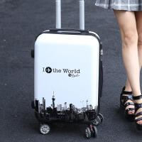 行李箱女20寸万向轮旅行箱密码箱男24寸韩版潮皮箱学生26寸拉杆箱
