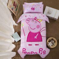 幼儿园被子三件套纯棉被罩被套宝宝午睡婴儿被褥汪汪队六件套含芯