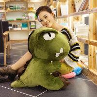 卡通恐龙暖手抱枕插手公仔毛绒沙发可爱靠垫韩式暖手捂学生 女生
