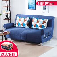 沙发床可折叠客厅单双人小户型阳台懒人沙发卧室多功能小沙发