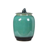 茶叶罐陶瓷 大号 密封罐茶饼普洱醒景德镇陶瓷茶具存储储茶罐茶缸