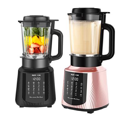 奥克斯新款静音破壁机家用小型加热全自动多功能豆浆机榨汁料理机 【微压免滤 】【蒸煮一体】 【声音约74dB】