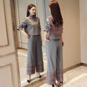 风轩衣度 套装/套裙清新韩版潮流简约修身显瘦气质2018年春季新款 2801
