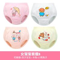 幼儿童男童女童宝宝内裤小孩1-3岁纯棉小童三角裤面包短裤6901