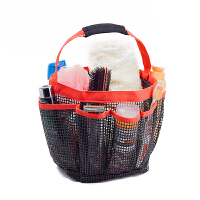 软塑料浴室手提洗澡篮子洗漱包沐浴游泳用品折叠收纳篮