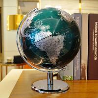 地球仪摆件办公桌装饰品20cm创意家居工艺品摆设小号高清世界地图