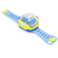 社会人同款警车珀利安巴表带遥控车手表电动儿童玩具汽车 抖音