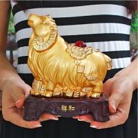 生肖生肖羊摆件大号办公书桌摆设生日创意礼品开业礼品工艺品