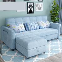 【支持礼品卡】多功能乳胶沙发床1.8米1.5坐卧两用可折叠客厅双人小户型布艺沙发o2i