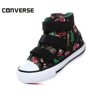 Converse/匡威童鞋男童女童高帮帆布鞋儿童加绒卡通休闲鞋(5-10岁可选)358318C