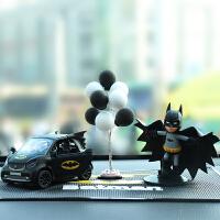 创意披风蝙蝠侠车内饰品车载摆件smart合金车模型高档汽车装饰品