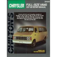 【预订】Chrysler Full-Size Vans, 1967-88