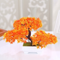 假花盆栽花迷你小盆景室内装饰花卉仿真花束小摆设客厅塑胶花