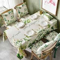 桌布布艺欧式棉麻小清新防水防烫防油免洗长方形茶几台布餐桌布
