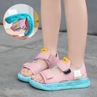 儿童凉鞋女童鞋2019新款软底韩版夏季中大童宝宝公主鞋学生沙滩鞋