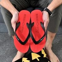 拖鞋男夏季韩版人字拖男防滑凉拖个性男士沙滩鞋潮休闲凉拖鞋越南