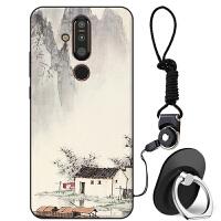 Nokia诺基亚X71手机壳女款TA-1172软硅胶保护套卡通可爱防摔全包日韩男