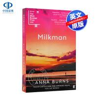 英文原版 Milkman 送奶员 2018年布克文学奖获奖 全英文版小说 Anna Burns 安娜伯恩斯 Faber