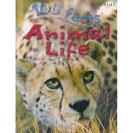 100 Facts Animal Life 关于动物生活的100个事实 儿童百科 原版