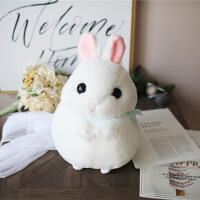 白色小兔兔卡通玩偶小白兔公仔兔子布娃娃毛绒玩具生日礼物送女孩