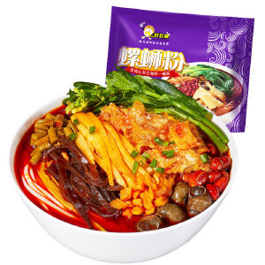 好欢螺 螺蛳粉300g*3包组合装 广西柳州特产麻辣粉煮食类方便面粉米线