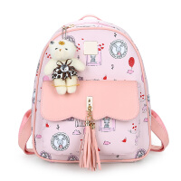 女孩包包儿童韩版迷你小背包少女百搭时尚可爱皮双肩包小学生书包