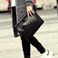 新款男士斜挎包 复古商务男包手拿包文件包 韩版手提包单肩包