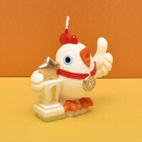 儿童生日派对用品创意生肖小蜡烛周岁蜡烛鸡卡通宝宝生日蜡烛 鸡蜡烛