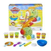 孩之宝培乐多彩泥儿童手工 妙趣面条机套装 无毒橡皮泥 玩具B9013