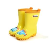 卡通儿童雨鞋男童女童婴幼儿宝宝学生胶鞋雨靴水鞋
