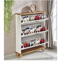 超薄翻斗鞋柜17cm鞋柜家用门口经济型简约现代门厅柜透气玄关柜小