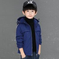 童装男童棉衣外套冬装2018新款棉袄儿童夹棉中大童加绒加厚潮