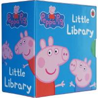 英文Peppa Pig Little Library 小猪佩奇 6册小纸板书 [3-6岁]