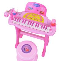 ?小猪佩奇琪儿童电子琴男女孩钢琴乐器宝宝益智初学音乐玩具?