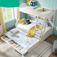 母床双层床儿童床1.2米公主上下床高低床家具C-01 o8a