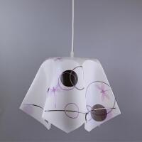 灯罩罩吸顶灯卧室客厅吊灯台灯个性创意圆形布艺餐厅装饰配件外壳