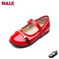 百丽Belle童鞋18新款儿童皮鞋雅致都市风女童学生鞋时尚女孩时装鞋校园文艺表演鞋 (5-10岁可选) DE0666