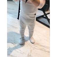 婴童装婴儿秋装6-12月女宝宝高腰护肚裤一岁男童打底裤长裤qg