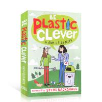 【全店300减100】英文原版 Be Plastic Clever DK儿童百科科普读物