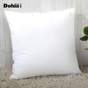 多喜爱家纺 方枕芯抱枕芯靠垫 纤维枕单人70*70正方枕头62*62