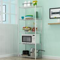 厨房置物架层架铁艺防锈整理架储物架p6i