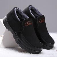 №【2019新款】冬天老年人穿的老北京二棉鞋男士雪地靴韩版潮流休闲中帮男靴子